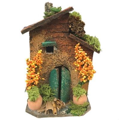 Casa napoletana in sughero 12 cm