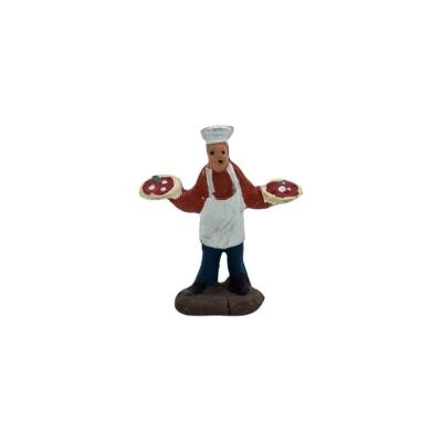 Pizzaiolo in terracotta 2 cm