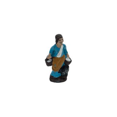 Donna che trasporta acqua in terracotta 2 cm