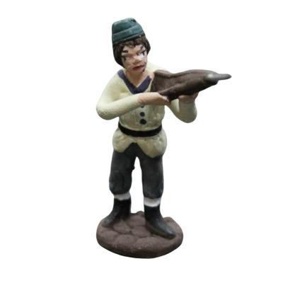 Cacciatore in terracotta 4 cm