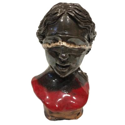 De Bendata busto stilizzata in ceramica 16 cm