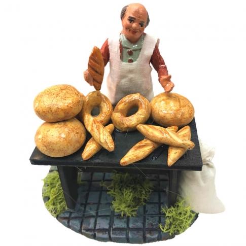 Bottega del panettiere 10 cm