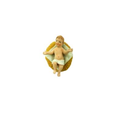 Gesù Bambino in terracotta 4 cm