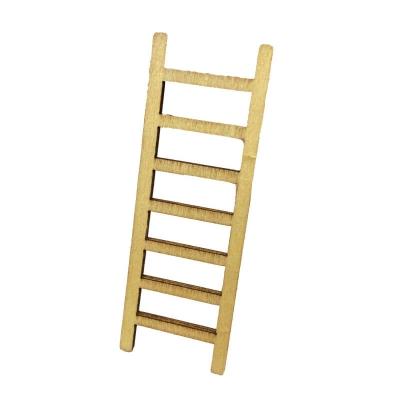 Balcone in legno per presepe 9 cm