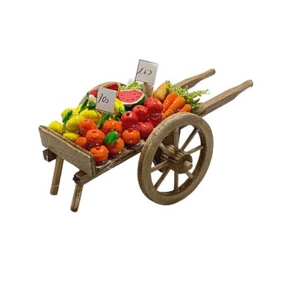 Carretto con frutta per pastori da 10 cm