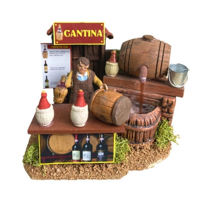 Cantina con vinaio in movimento 7cm