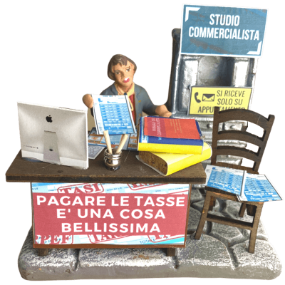 Studio del Commercialista 10 cm