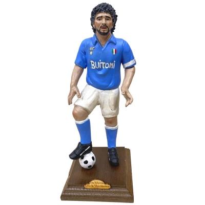 Statuetta Maradona in terracotta 30 cm