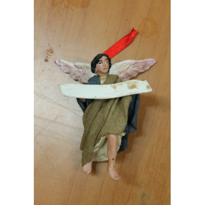 Angelo gloria vestito in stoffa 7 cm