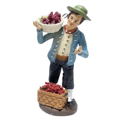 Fruttivendolo in terracotta 12 cm