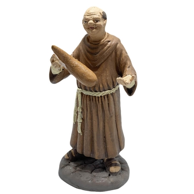 Frate in terracotta 12 cm