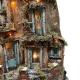 Presepe artigianale napoletano con luci 70 cm