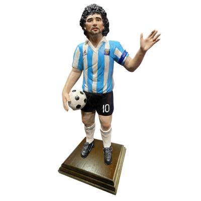 Statuetta Maradona Argentina in terracotta 30 cm