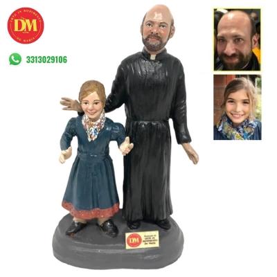 Statuina coppia personalizzata 20 cm