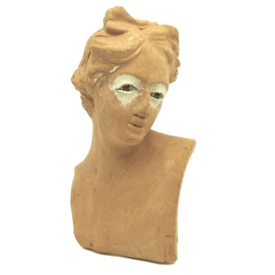 Testa dell'Angelo 25 cm con occhi in vetro