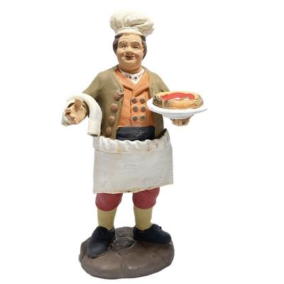 Cuoco in terracotta 15 cm