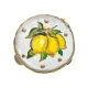 Tamburello con dipinto dei Limoni 4.5 cm
