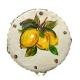 Tamburello con dipinto dei Limoni 8 cm