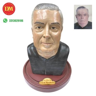 Busto personalizzato con il tuo volto da 20 cm