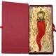 Cornetto reale terracotta in scatola regalo 10 cm