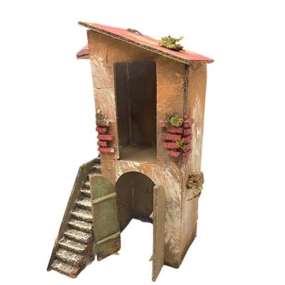 Casa per presepe napoletano 30 cm