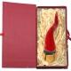 Corno borbone ceramica da tavolo in scatola regalo 9-10 cm