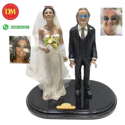 Statuina sposi personalizzata 25 cm