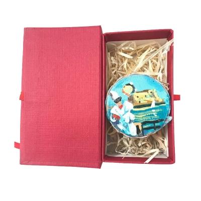 Tamburello da 2.5 di Pulcinella in scatola regalo