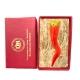 Corno imperiale in terracotta 10 cm con scatola regalo