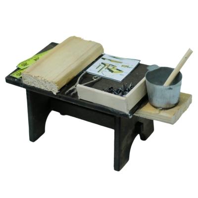 Banchetto del falegname per pastori 10 cm
