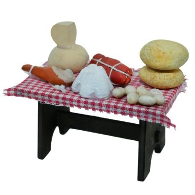 Banchetto con salumi per pastori da 7 a 10 cm
