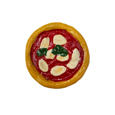 Pizza in terracotta con magnete