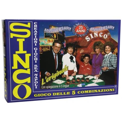 SINCO - il gioco da tavolo delle 5 combinazioni