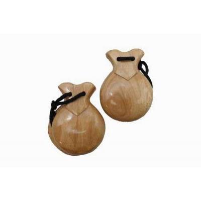 Castagnette in legno