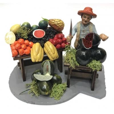 Fruttivendolo 10 cm