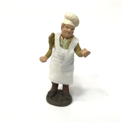 Uomo 10 cm con braccio e busto in movimento