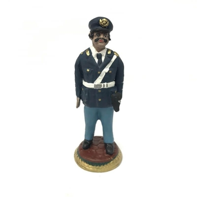 Polizia in terracotta 17 cm