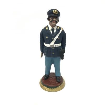 Polizia in terracotta 17 cm