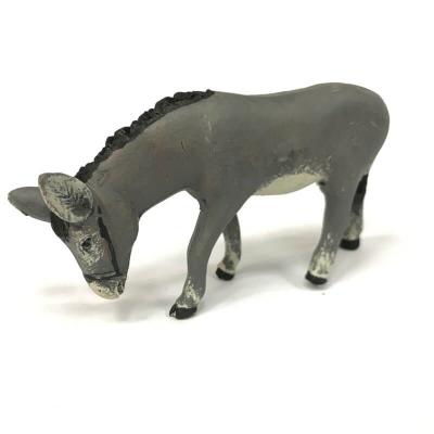 Asino di campagna in terracotta 10 cm
