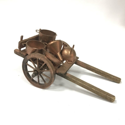 Carretto con rame per pastori da 10 cm