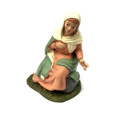 Madonna in terracotta 12 cm