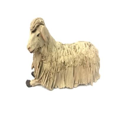 Pecora in terracotta 12 cm
