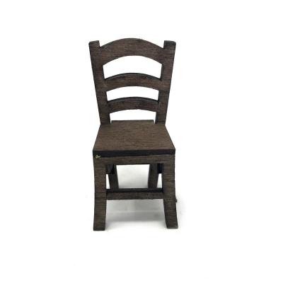 Sedia in legno per pastori da 10 a 12 cm