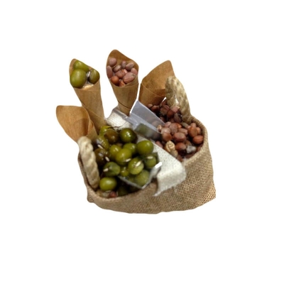 Sacco con frutta secca per pastori da 12 e 15 cm