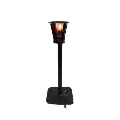 Lampione in ferro con luce 11 cm
