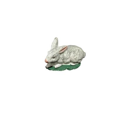 Coniglio in terracotta presepe napoletano