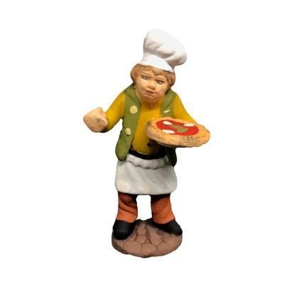 Pizzaiolo in terracotta 7 cm