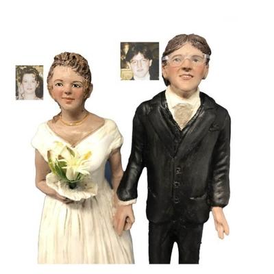Statuina degli sposi cake topper