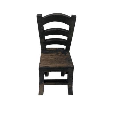 Sedia in legno per pastori da 7 cm