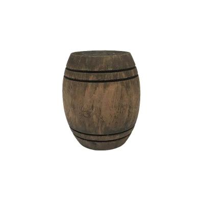 Botte in legno per presepe fatto a mano